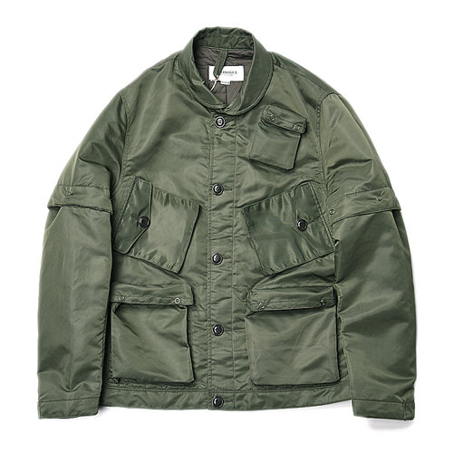 "East Logue Transmutable C-1 Jacket ""Olive Nylon"""