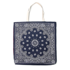 "Infielder Design B-28 Bandana Bag ""Navy x Red"""