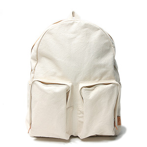 "AMIACALVA 60/40 Canvas Back Pack ""White"""