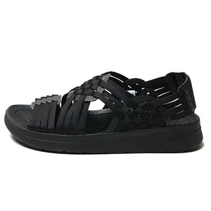 "Malibu Sandals (Women's / Men's) CANYON Nylon Webbing ""Black"""