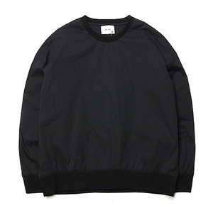 "Blev Route Mic Wash Round Shirt-T ""Black"""