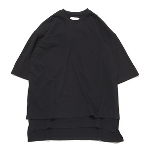 "GAKURO Layered Oversized T-Shirt ""Black"""