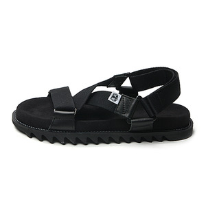 "Hombre Niño x Double Foot Wear Sharksole Sandal ""Black"""