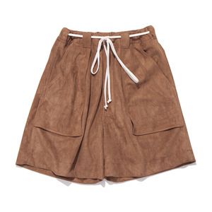 "GAKURO Safari Shorts ""Faux Suede"""