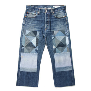 "CHILDREN OF THE DISCORDANCE by NAOTO YOSHIDA Old Patch Levi's Denim Pants ""Blue"""
