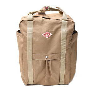 "DANTON #JD-7071 SCV Cotton Canvas Bag ""Beige"""