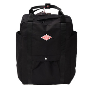 "DANTON #JD-7071 SCV Cotton Canvas Bag ""Black"""