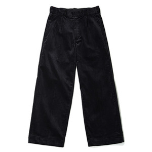 "DANTON #JD-2566 Corduroy Wide Pants ""Navy"""