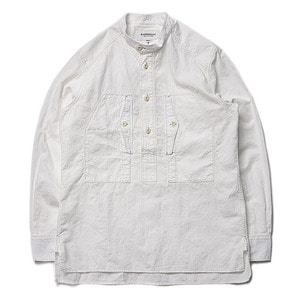 "East Logue Work Shirt ""Off White Jacquard"""