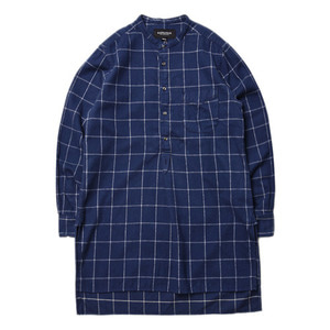 "EASTLOGUE Tunic Shirt ""Navy Flannel"""