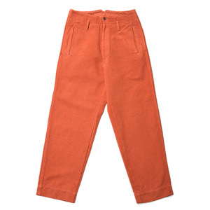 "BUKHT Work Pants ""Red Orange"""