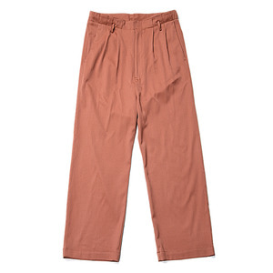"BUKHT Two Tuck Baggy Trousers ""Ocher"""