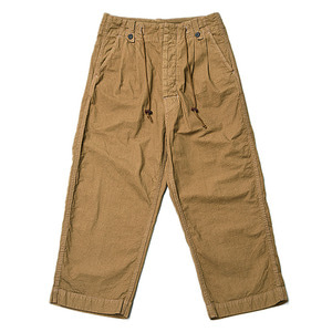 "BUKHT Pin Tuck Army Trousers ""Khaki"""