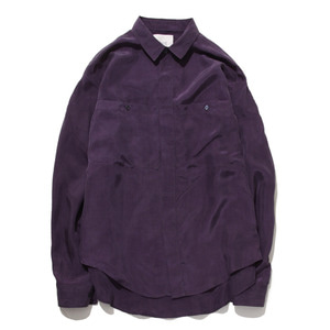 "GAKURO Bemberg Shirt ""Purple"""