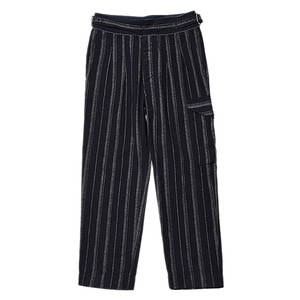 "EASTLOGUE Gurkha Pants ""Navy Stripe"""