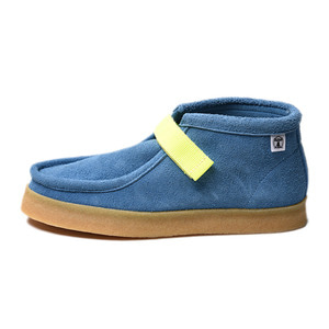 "Hombre Niño x Double Foot Wear Suede Boots ""Blue"""