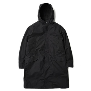 "Still by Hand Lined Hooded Coat ""Black"""