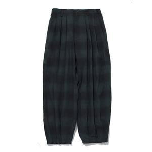 "GAKURO Oriental Harem Pants ""Black&Green"""