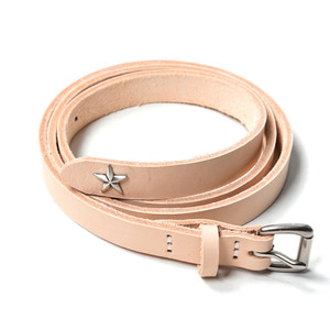 "MAPLE Long Belt Star Concho ""Natural"""