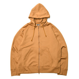 "KIIT N/C Pile Zip Up Hoodie Tops ""Yellow"""
