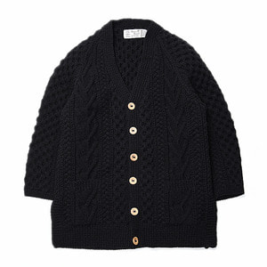 "ATHENA DESIGNS V-Neck Short Sleeve Cardigan ""Black"""