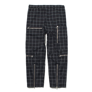 "GAKURO Flight Pants ""Black Graph Paper"""