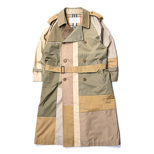 "CHILDREN OF THE DISCORDANCE Vintage Burberry Patch Trench Coat ""Beige"""