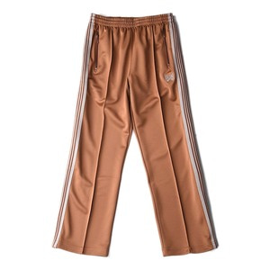 "NEEDLES Track Pant Poly Smooth ""Brown"""
