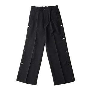 "KIIT P/PU W Cloth basket Pants ""Black"""