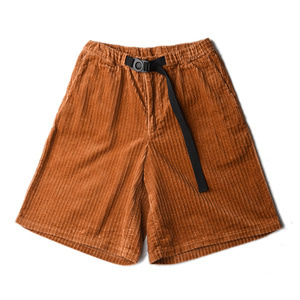 "KIIT 5W Corduroy Short Pants ""Orange"""