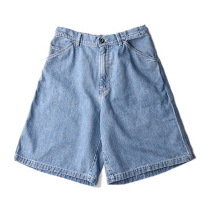 "KIIT 11.5oz Roll Up Painter Short Denim ""Indigo Bio Fade"""