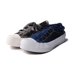 "NEEDLES Asymmetric Ghillie Sneaker ""Gry&Nvy"""