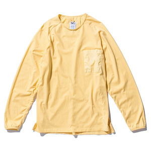 "STAND OUT STORE Rib L/S (T5) ""Lemon"""