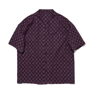 "Qlad Museum Triangle Half Shirt ""Purple"""
