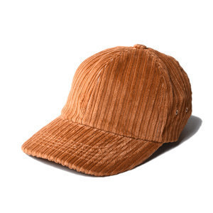 "KIIT x MSACA Hat Collabolation Cap Corduroy ""Orange"""