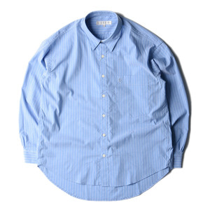 "LIFUL Classic Striped Shirt ""Blue"""