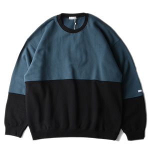 "LIFUL Color Block Sweatshirt ""Green"""