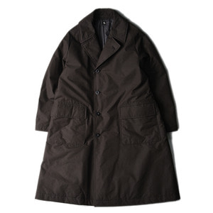 "KAPTAIN SUNSHINE Padding Chesterfield Coat ""Black"""