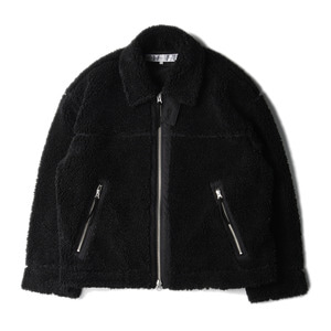 "LIFUL B-1 Fur Jacket ""Black"""