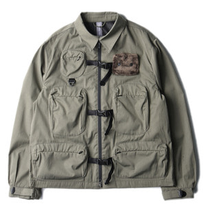 "UNAFFECTED Utility Fisherman Jumper ""Sage Green""(28일 발매)"
