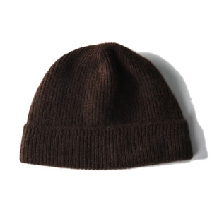 "KAPTAIN SUNSHINE Cashmere Watch Cap ""Dark Olive"""