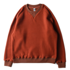 "UNAFFECTED Sweat Shirt ""Amber Orange Fleece""(28일 발매)"