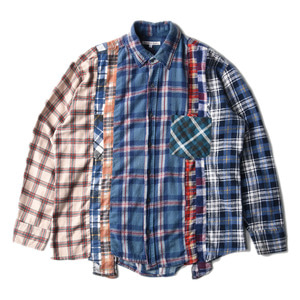 "NEEDLES Rebuild by Needles Flannel 7 Cuts  Shirts ""L-7"""