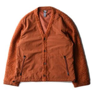 "UNAFFECTED V-Neck Cardigan ""Ginger Orange""(28일 발매)"