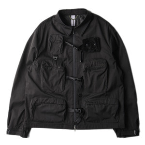 "UNAFFECTED Utility Fisherman Jumper ""Black""(28일 발매)"