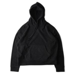 "BROWNYARD Wide Fleece Hoodie ""Black"""