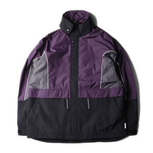 "LIFUL Colorblock Wind Parka ""Purple"""