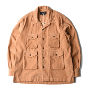 "East Logue Safari Shirt ""L.Brown"""