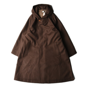 "KAPTAIN SUNSHINE Fooded Coat ""Brown"""