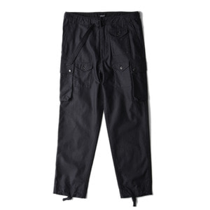 "East Logue Para Pants ""Black Backsatin"""